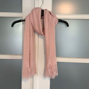 Pale pink scarf from New York & Company